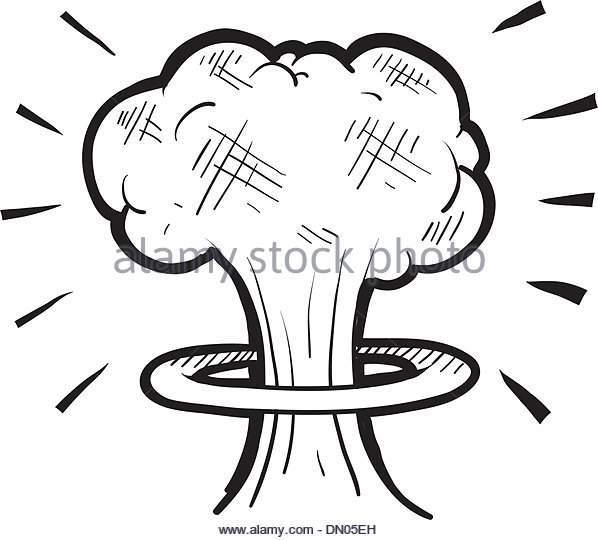 598x540 Atomic Bomb Testing Stock Vector Images