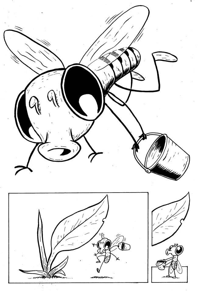 650x952 Photosynthesis (Or Gimme Some Sugar) Drawing Flies