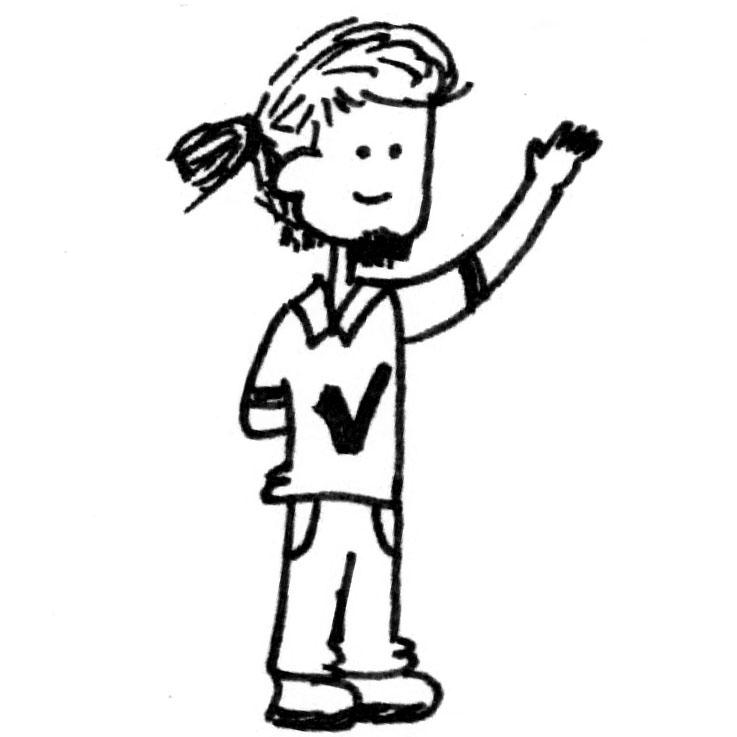 737x737 Cute Sketch Cartoon Boy By Viratsaluja