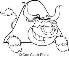 233x194 Cartoon Buffalo Wood Sign. A Cartoon Illustration Of A Clip Art