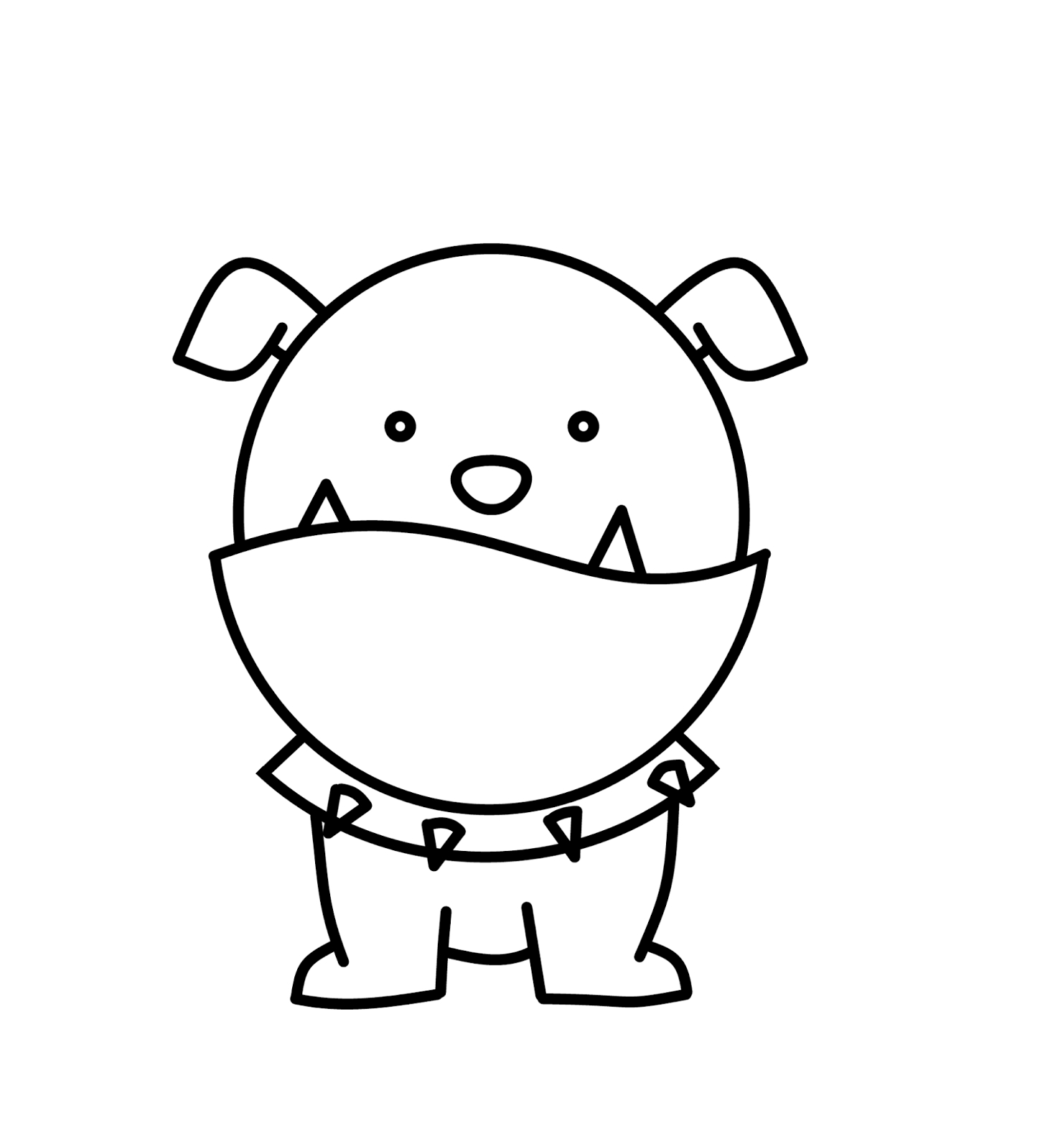 1449x1600 Drawing Of A Bulldog Coloring Pages Delightful How To Draw