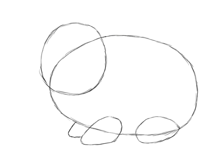 700x525 How To Draw A Bunny