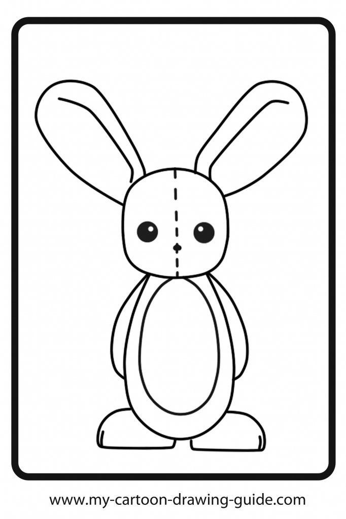 682x1024 How To Draw A Cartoon Bunny 10 Pics Of Cartoon Sketches Coloring