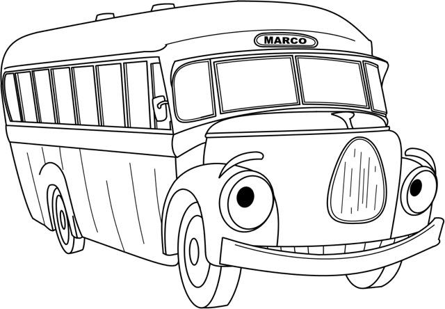 640x444 Cartoon Colouring