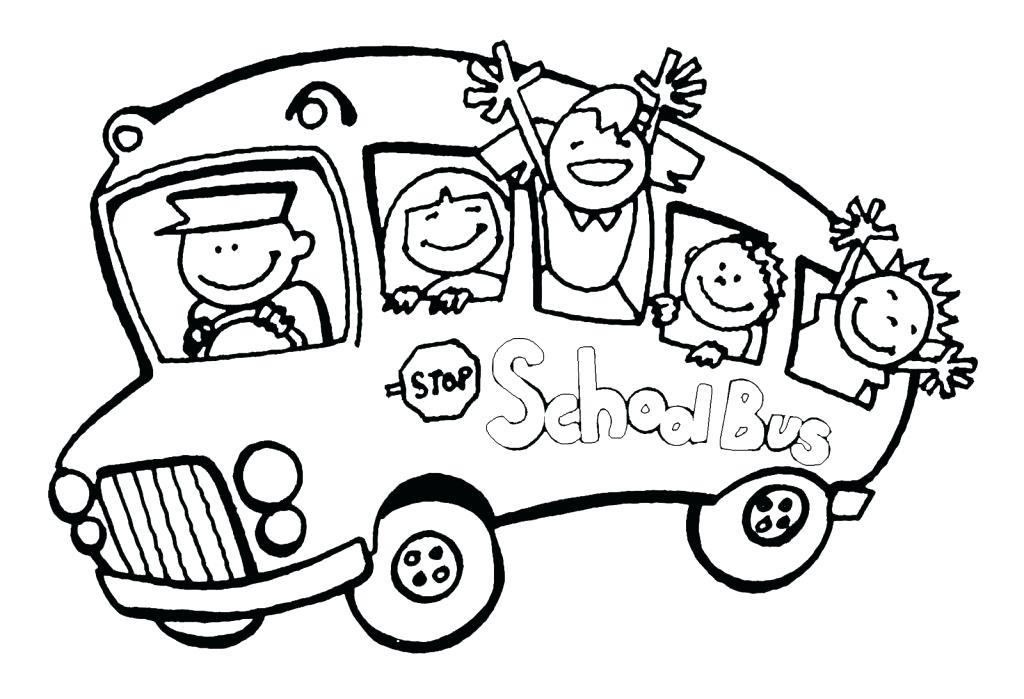 1024x699 Magic School Bus Coloring Page Bus Coloring Page Printable School