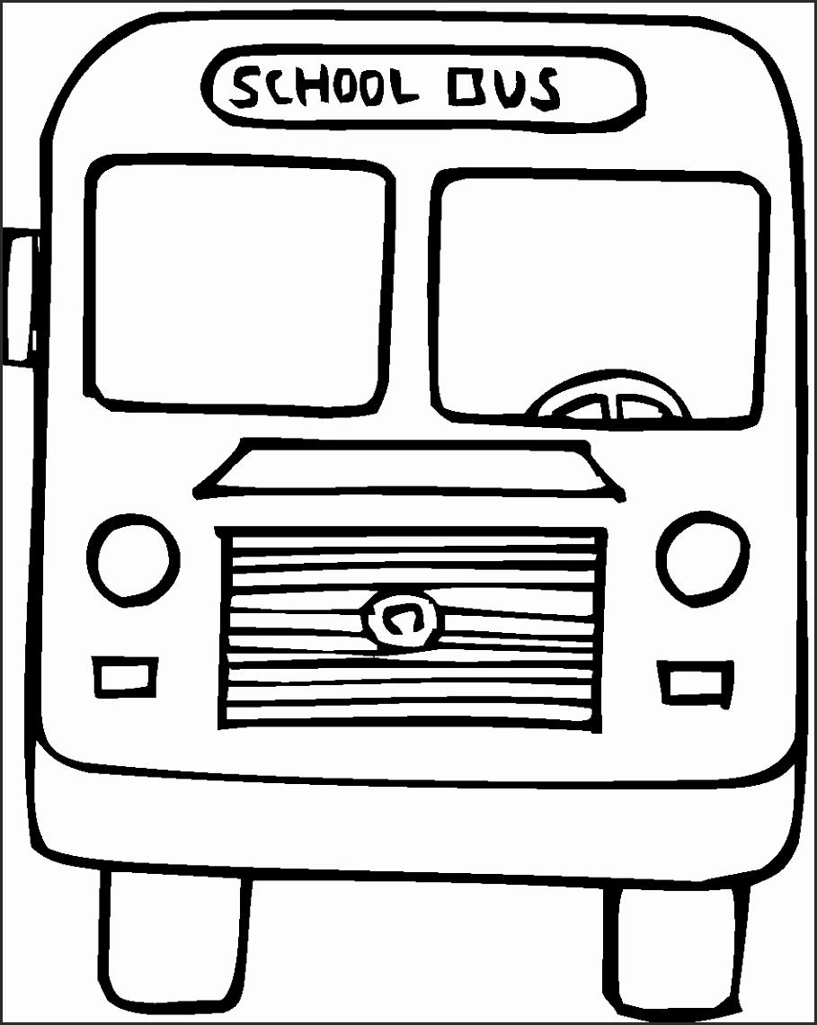 909x1140 School Bus Drawing For Kids Cucys Unique Free Printable School Bus