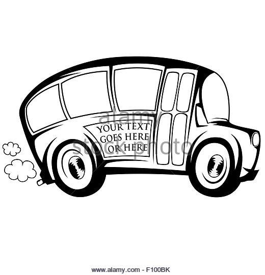520x540 Bus School Cartoon Stock Photos Amp Bus School Cartoon Stock Images