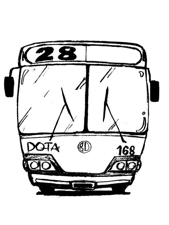 540x720 Bus Design For 2d Animation By Marianomattos