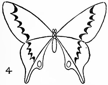 350x275 Easy Butterfly Drawings To Paint Butterfly Drawing Easy Methods