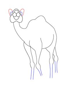 236x313 Camel Heads How To Draw A Camel's Face. You Start With The Almost