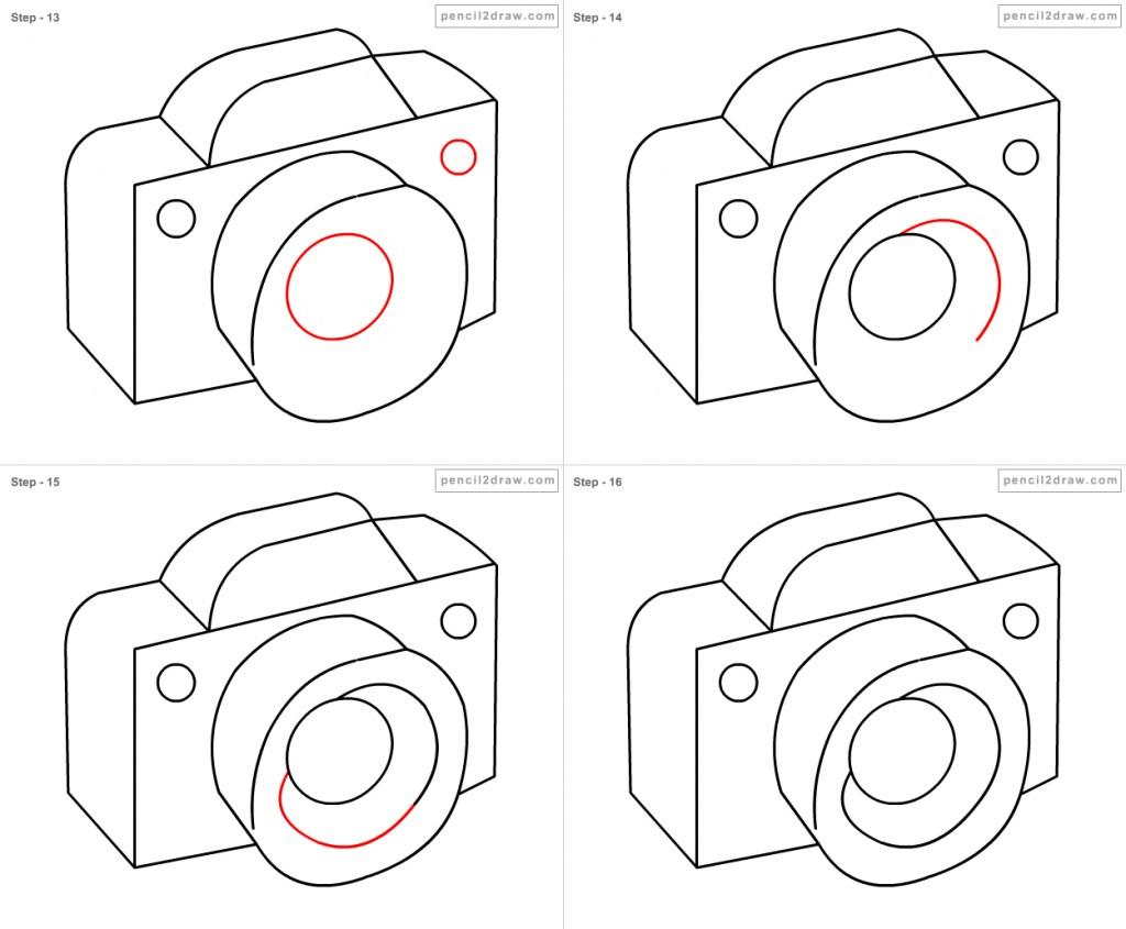 1024x845 Camera Cartoon Drawing