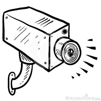 400x400 Cctv Clipart Cartoon