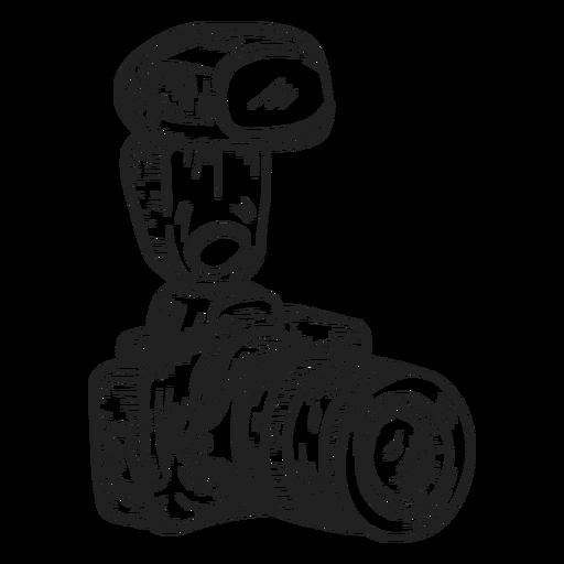 512x512 Digital Photo Camera Sketch
