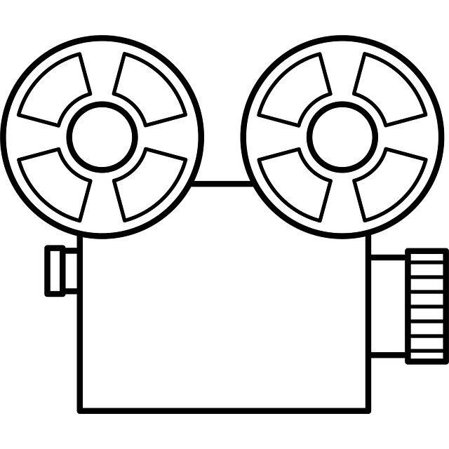 640x640 Old Cartoon Video Camera