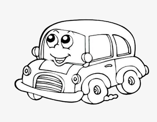 647x500 Cartoon Car, Cartoon, Car, Sketch Png Image For Free Download