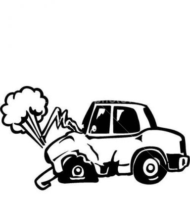 384x400 Pictures Cartoon Pictures Of Car Crashes,