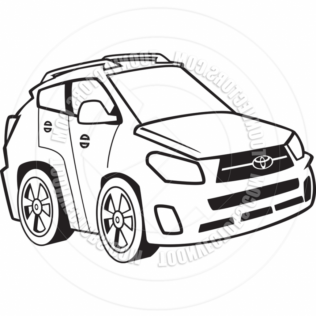 Cartoon Cars Drawing