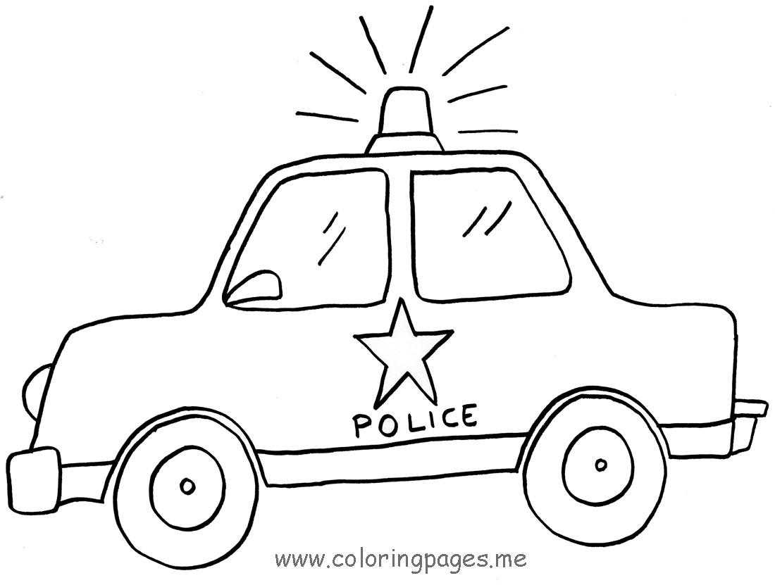 1100x831 Drawn Vehicle Cop Car