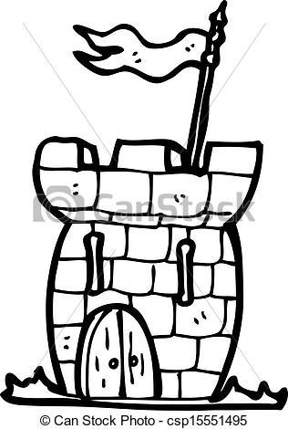 316x470 Cartoon Tiny Castle Eps Vectors