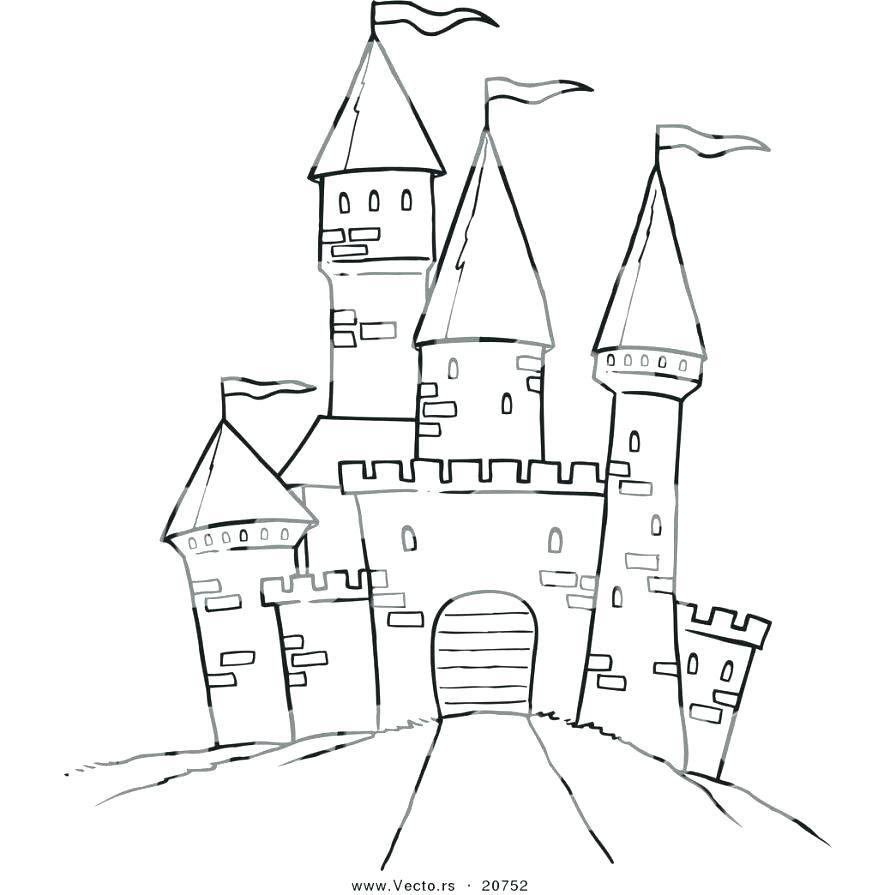 878x895 Coloring Pages Castle Disney Frozen Coloring Pages Castle