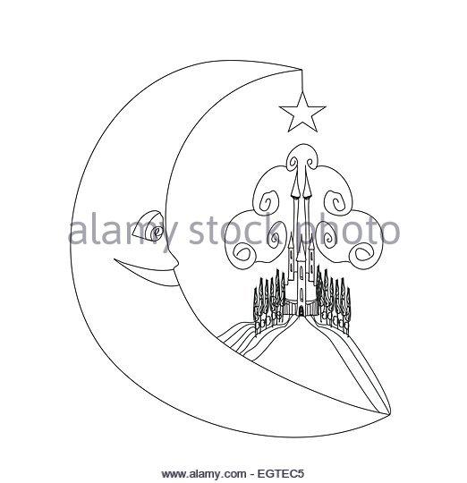 522x540 Hand Drawn Cartoon Castle Tower Stock Photos Amp Hand Drawn Cartoon