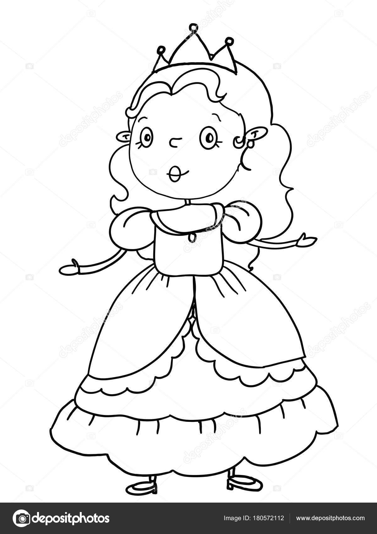 1200x1700 King Princess Prince Castle Illustration Drawing Coloring Cartoon