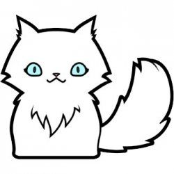 Cartoon Cat Drawing At Getdrawings Com Free For Personal Use