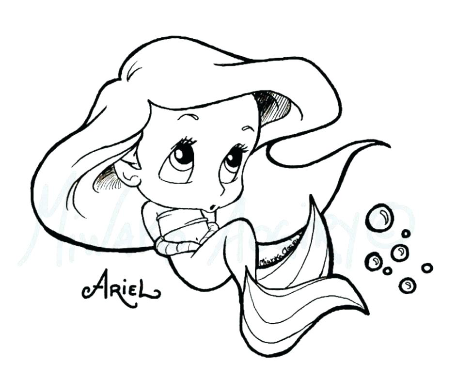 974x782 Simple Sea Animal Coloring Pages Print Cute Baby Cartoon Animals