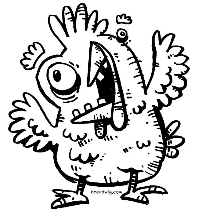 652x694 Cartoon Chicken Archives