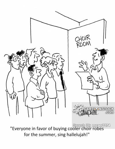 400x518 Church Choir Cartoons And Comics