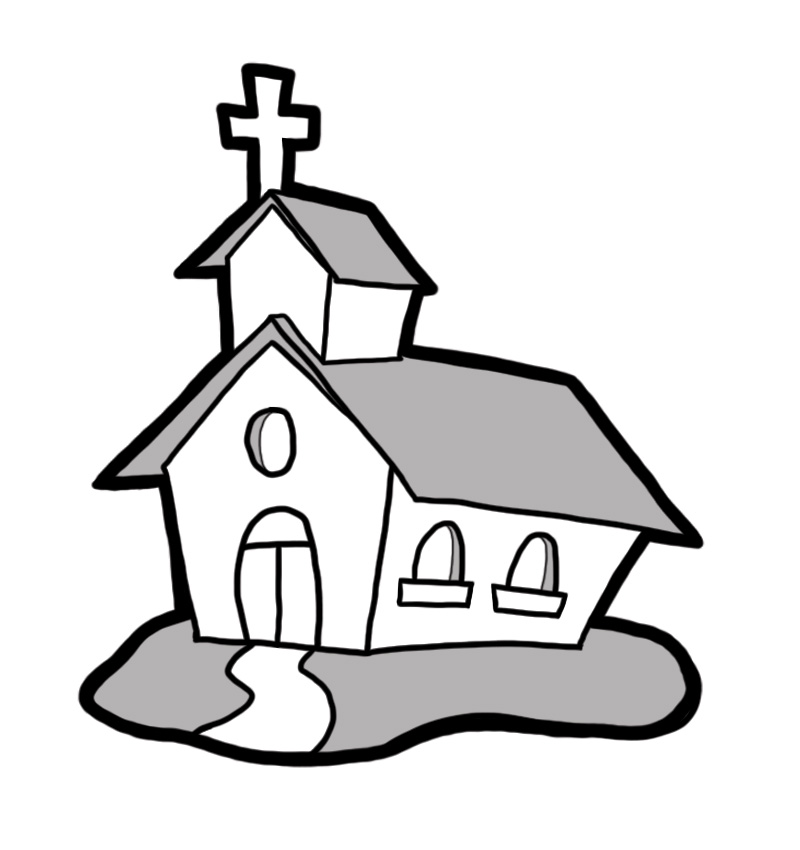 cartoon church drawing at getdrawings com free for personal use rh getdrawings com religious black & white christmas clip art black church clip art