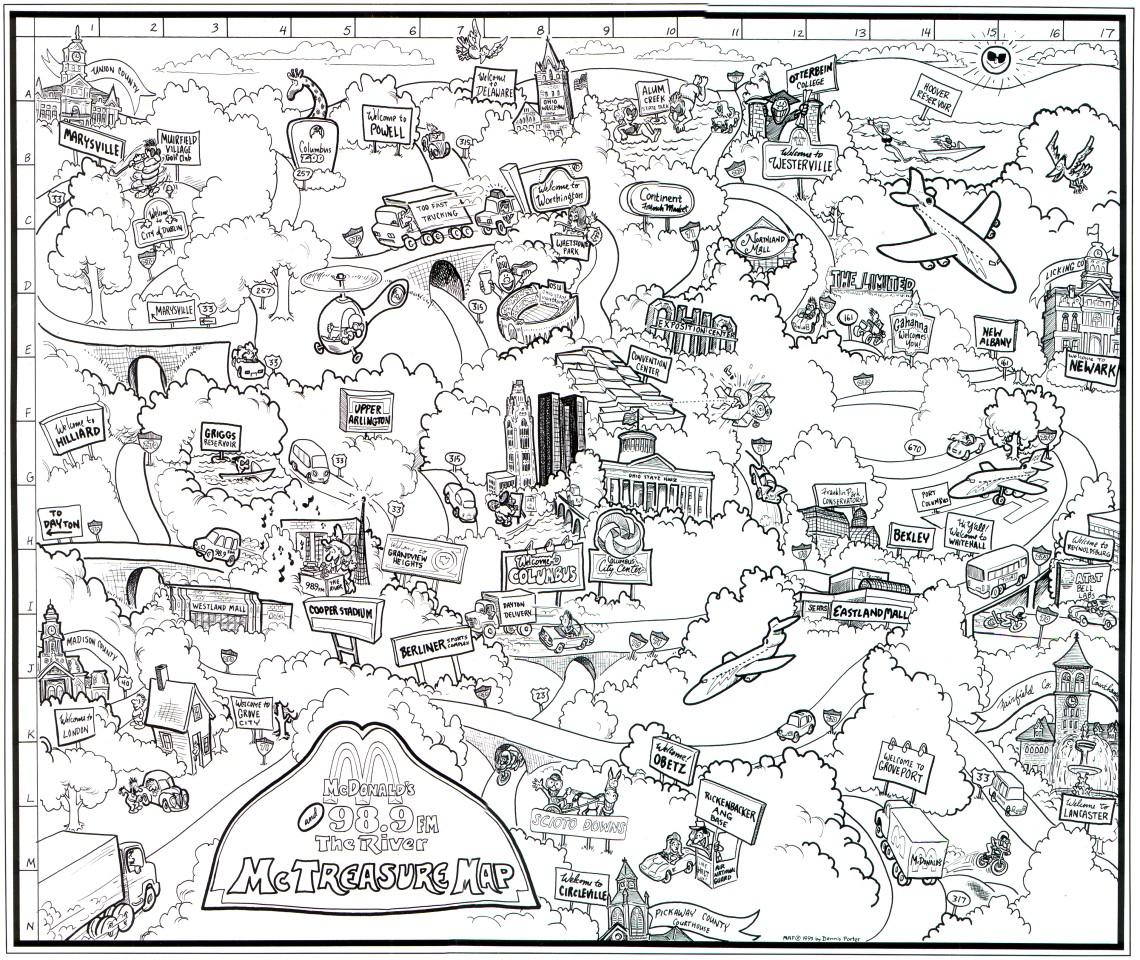 1140x960 Cartoon City Drawing Cartoon City Maps Www.drawme