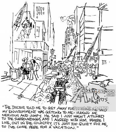 400x453 City Pollution Cartoons And Comics
