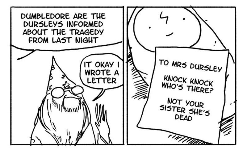 800x499 12 Hilarious Harry Potter Comics Display How Irresponsible