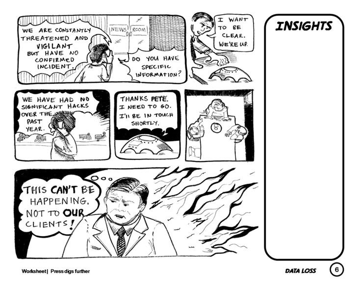 732x589 Boardroom Comics A Business Scenario Visualization Tool