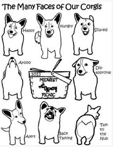 367x480 The Many Faces Of Corgi The Magic Of Dogs Corgi