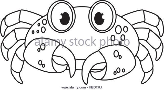 640x353 Black White Drawing Crab Stock Photos Amp Black White Drawing Crab