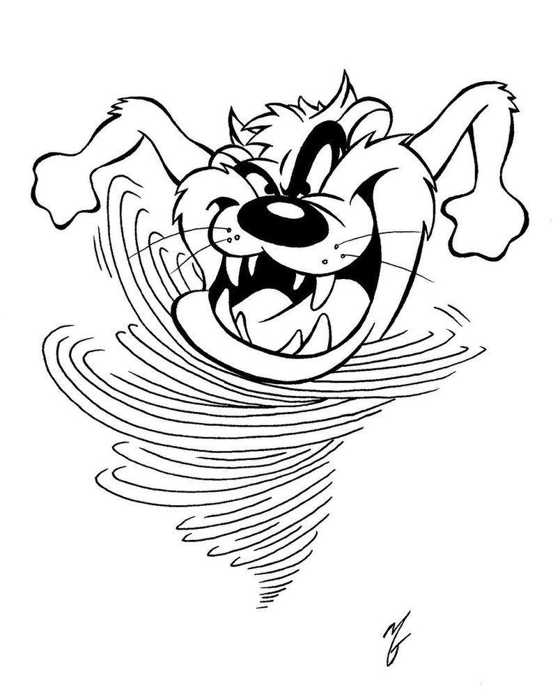 804x993 Tasmanian Devil Coloring Pages Tasmanian Devil Coloring Page