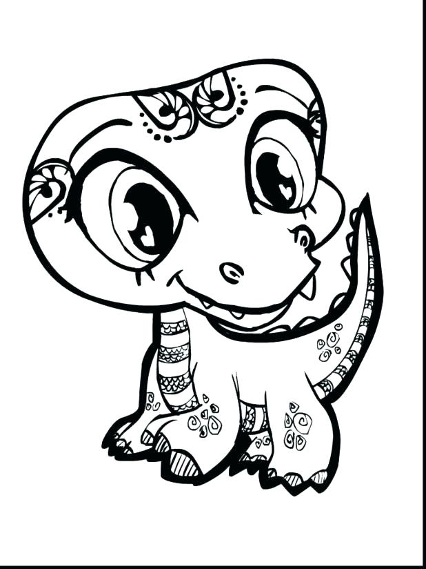 618x824 Cute Dinosaur Coloring Pages Cute Dinosaur Coloring Page Cartoon