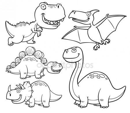 450x393 Cute Crocodile Or Dinosaur Waving Cartoon. Vector Character