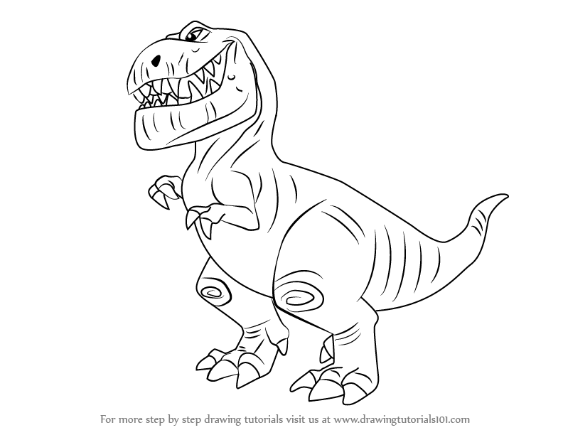 792x612 Learn How To Draw Butch From The Good Dinosaur (The Good Dinosaur