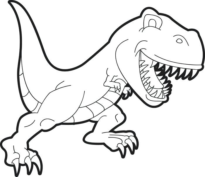700x605 Printable Dinosaur Coloring Pages Printable Dinosaur Coloring