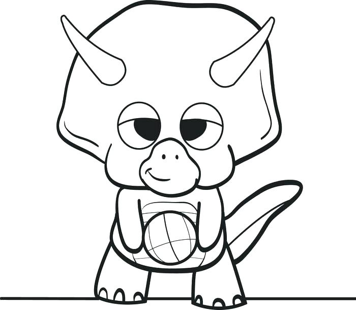 700x609 Dinosaur Coloring Pages To Print 1table.co
