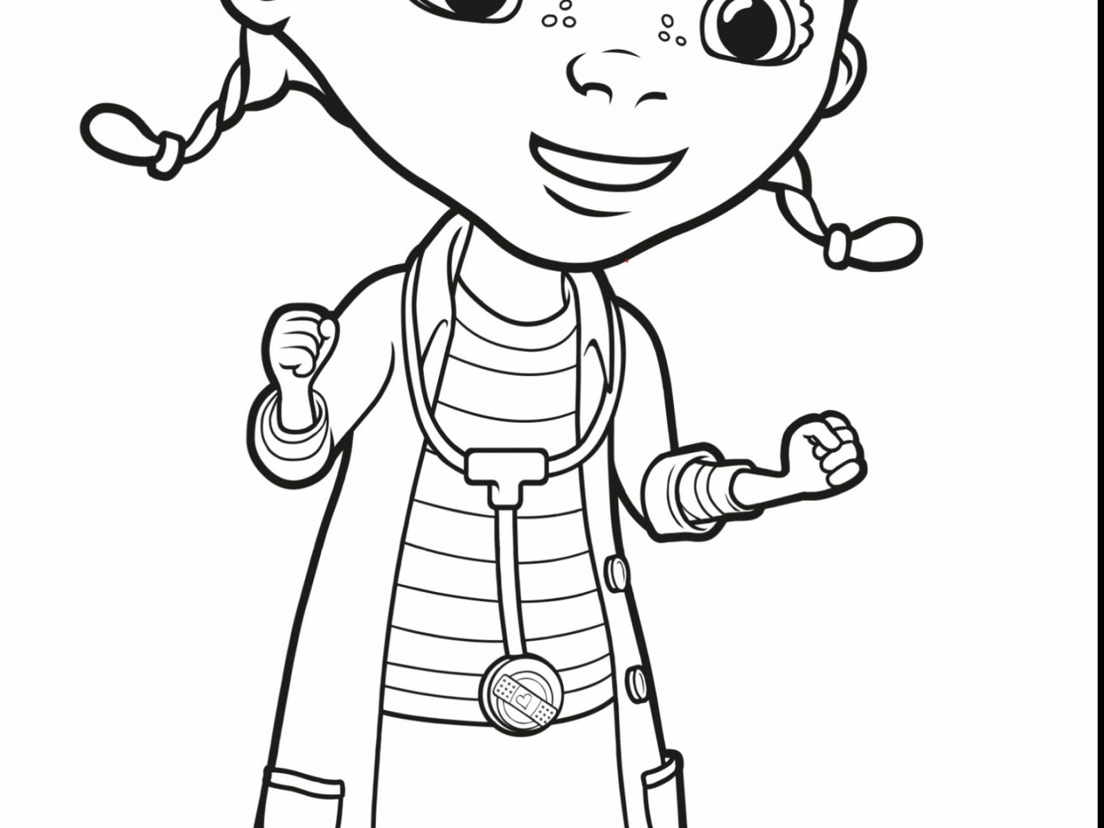 1600x1200 Doc Mcstuffins Theater Coloring Pages For Kids Printable Free