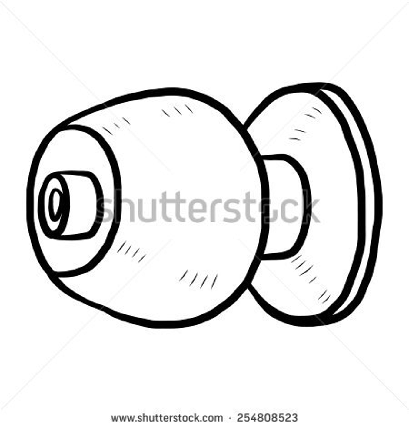 1350x1410 Drawing Door Knob Stock Vector Doorknob Cartoon And Illustration