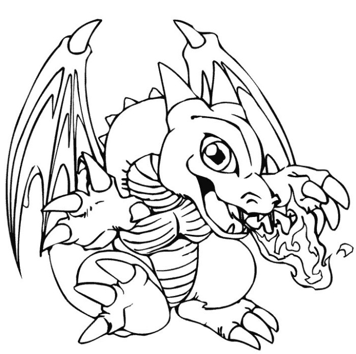 700x695 Cute Baby Dragons Coloring Pages