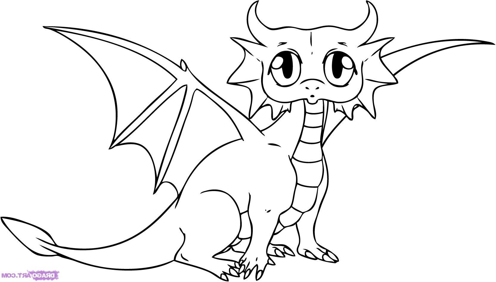 1664x948 Cartoon Dragon Drawing Best 15 How To Draw Cartoon Dragon Step