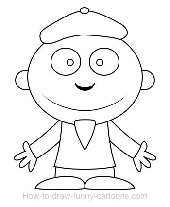 350x426 Drawing An Artist Cartoon