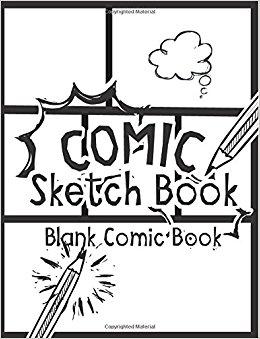 260x339 Comic Sketch Book