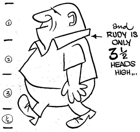 450x423 How To Draw Cartoon Figures Amp Bodies In Easy Steps
